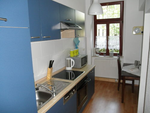 Ferienwohung Dresden Altpieschen - Küche