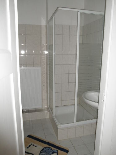 Ferienwohung Dresden Altpieschen - Dusche