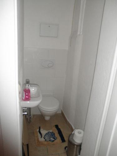 Ferienwohung Dresden Altpieschen - Toilette